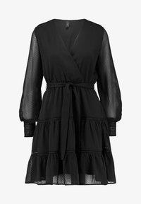 YAS - YASDANICA DRESS - Day dress - black - 5