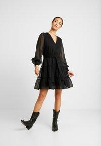 YAS - YASDANICA DRESS - Day dress - black - 2