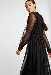 YAS - YASSOPHIA MIDI DRESS - Sukienka koktajlowa - black - 4