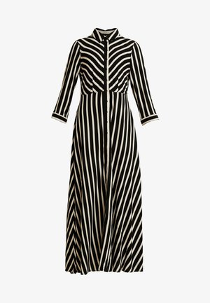 YASSAVANNA LONG DRESS NEW - Vestito lungo - black/creme brulee