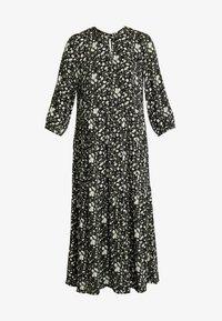 YAS - YASGREENISH LONG DRESS - Hverdagskjoler - black - 5