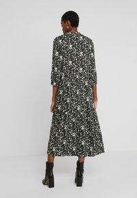 YAS - YASGREENISH LONG DRESS - Kjole - black - 3