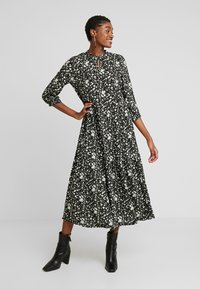 YAS - YASGREENISH LONG DRESS - Kjole - black - 2