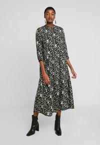 YAS - YASGREENISH LONG DRESS - Kjole - black - 0