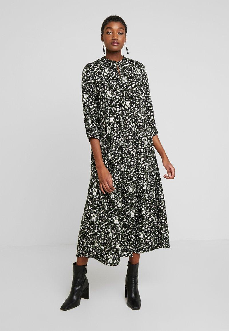 YAS - YASGREENISH LONG DRESS - Kjole - black