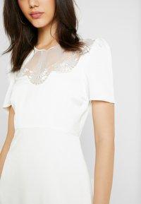 YAS - YASCORDELIA MAXI DRESS CELEB - Maxi šaty - star white - 5