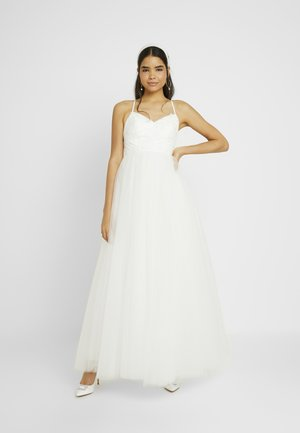 YASZETIA STRAP MAXI DRESS - Iltapuku - star white
