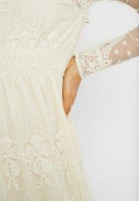 YAS - YASELOISE DRESS CELEB - Iltapuku - star white - 6