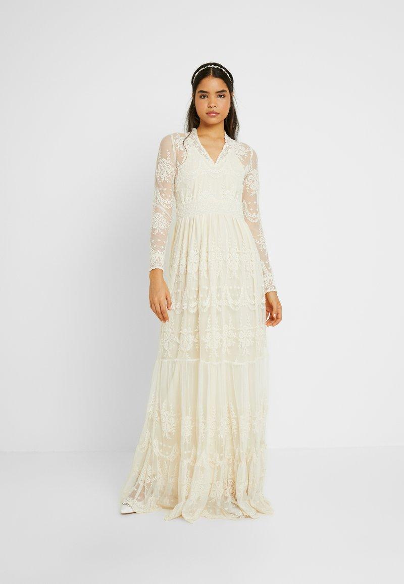 YAS - YASELOISE DRESS CELEB - Iltapuku - star white