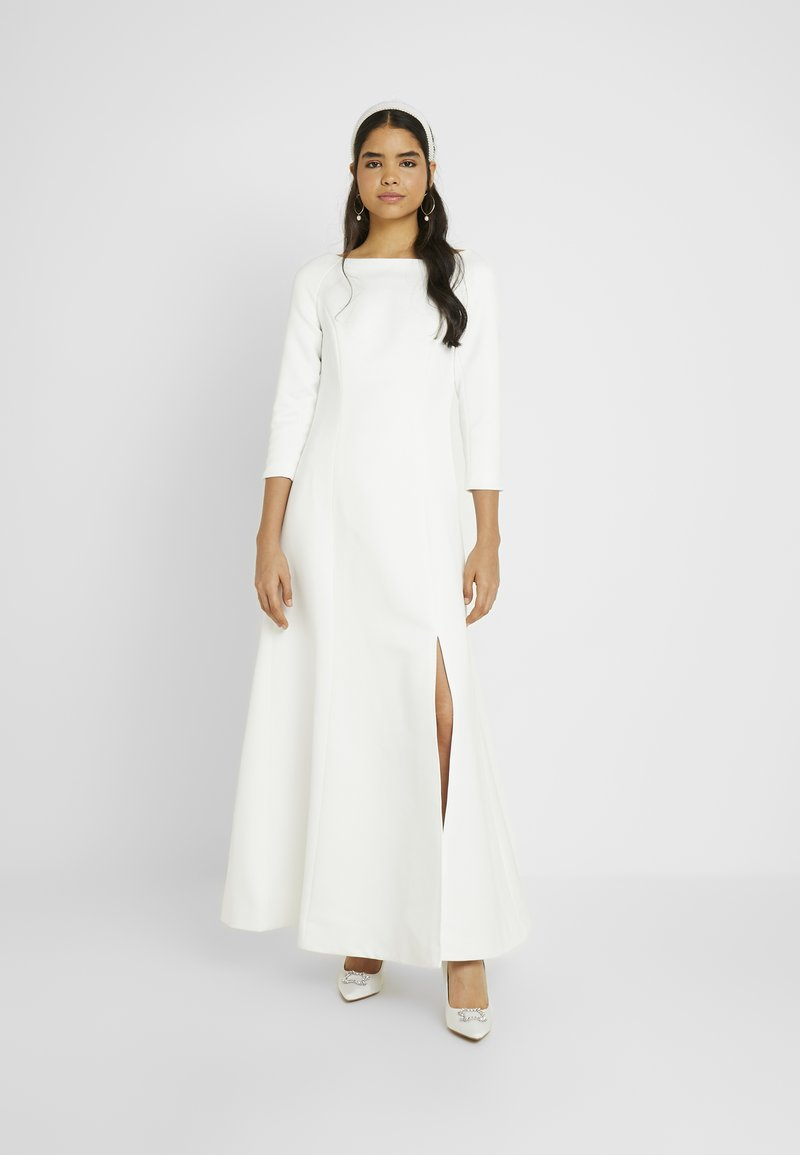 YAS - YASDORIA MAXI DRESS - Iltapuku - star white
