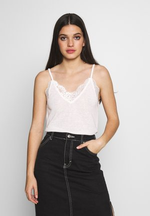 YASDEBRA LACE SINGLET - Top - star white