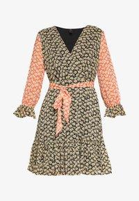 YAS - YASDAISY 3/4 DRESS - Korte jurk - black - 3