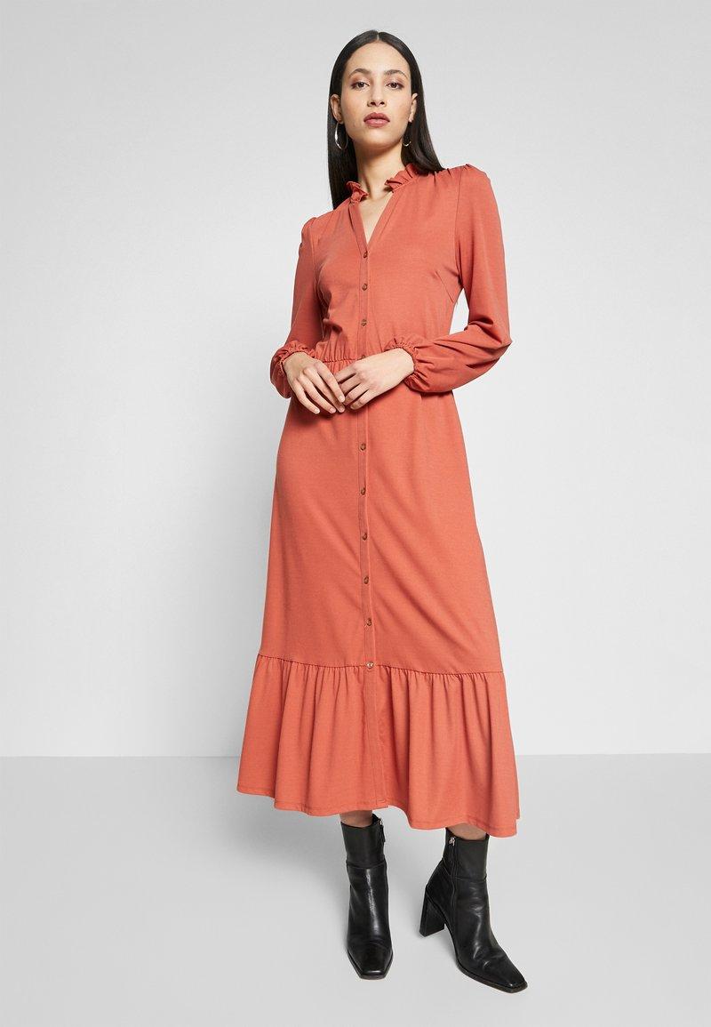 YAS - YASJUNE DRESS - Vestito di maglina - bruschetta