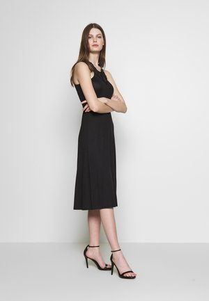 YASBLACE MIDI DRESS - Jersey dress - black