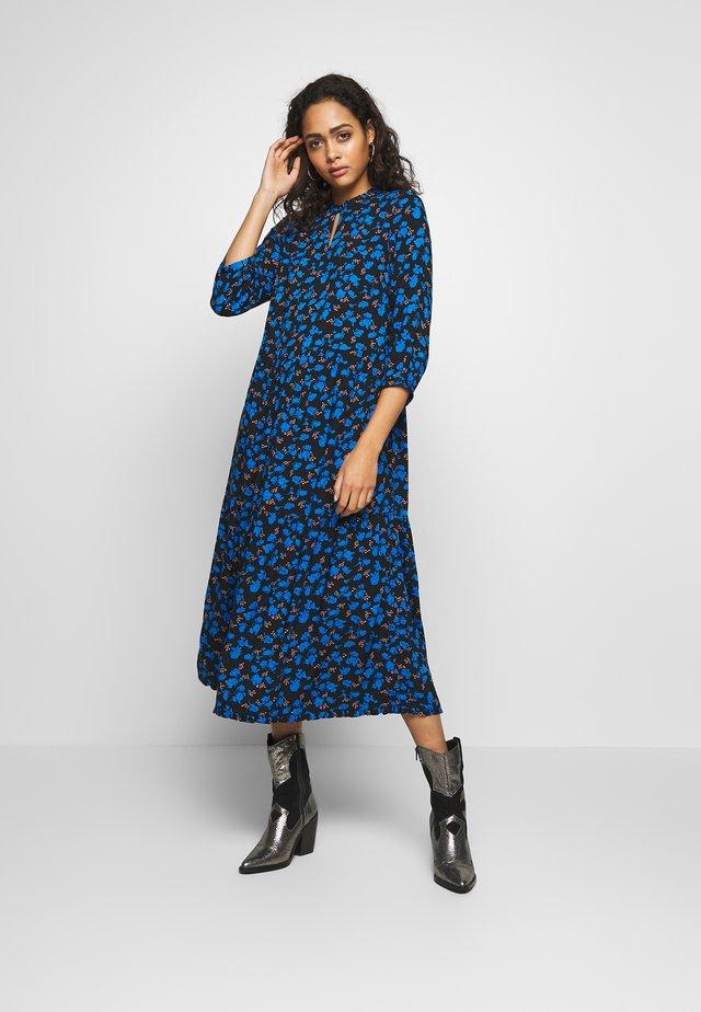 YASGREENISH  - Denní šaty - black/blue
