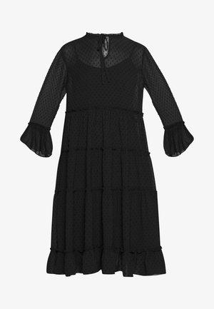 YASMIRENA LS DRESS FT - Kjole - black