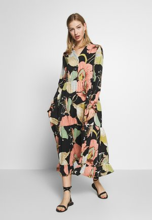 YASBLOOMI ANKLE DRESS - Kjole - black