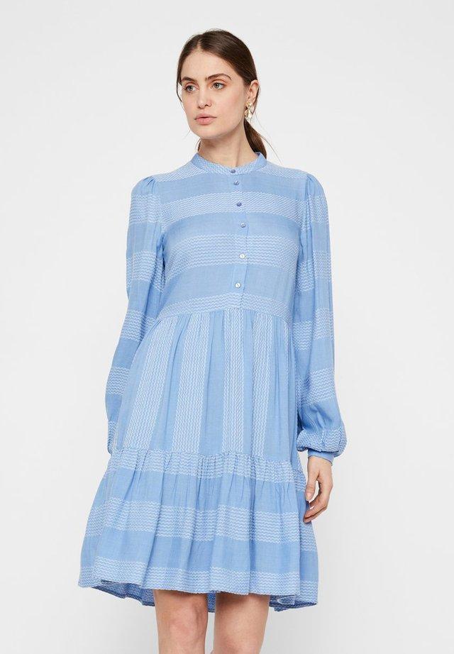 YASLAMALI DRESS - Shirt dress - blue water bell