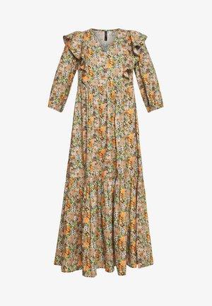 YASFLORALA ANKLE DRESS - Robe longue - coral pink
