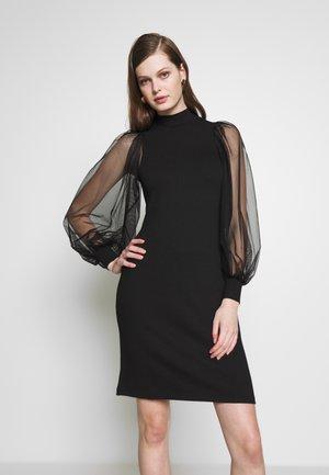 YASSUS DRESS - Denní šaty - black
