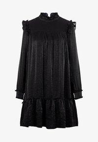 YAS - Korte jurk - black - 4