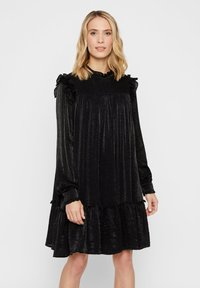 YAS - Korte jurk - black - 0