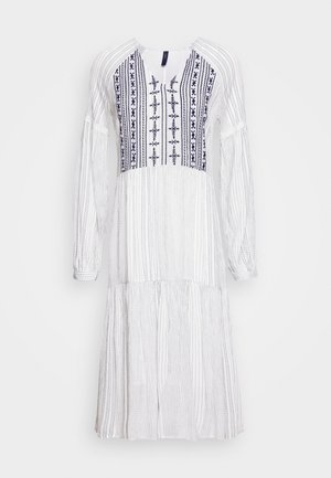 YASSTELLA MIDI DRESS - Day dress - star white/blue