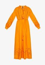 YASRINA ANCLE DRESS FEST - Maxi dress - russet orange