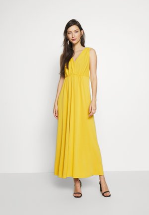 YASMARJIE ANKLE DRESS ICONS - Maxi dress - golden rod