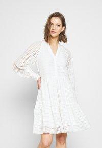 YAS - YASSIA DRESS  - Korte jurk - star white - 0