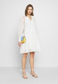 YAS - YASSIA DRESS  - Robe d'été - star white - 1