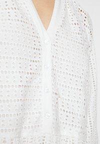 YAS - YASSIA DRESS  - Korte jurk - star white - 5