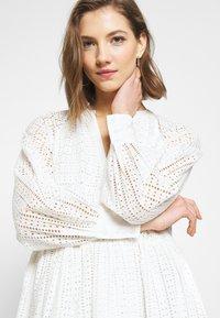 YAS - YASSIA DRESS  - Korte jurk - star white - 3