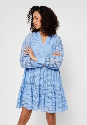 YASSIA DRESS  - Korte jurk - bel air blue