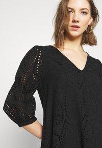 YAS - YASPENNY DRESS  - Korte jurk - black - 3
