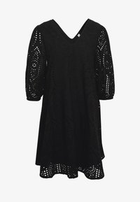 YAS - YASPENNY DRESS  - Korte jurk - black - 4