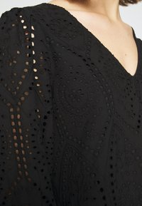 YAS - YASPENNY DRESS  - Korte jurk - black - 5