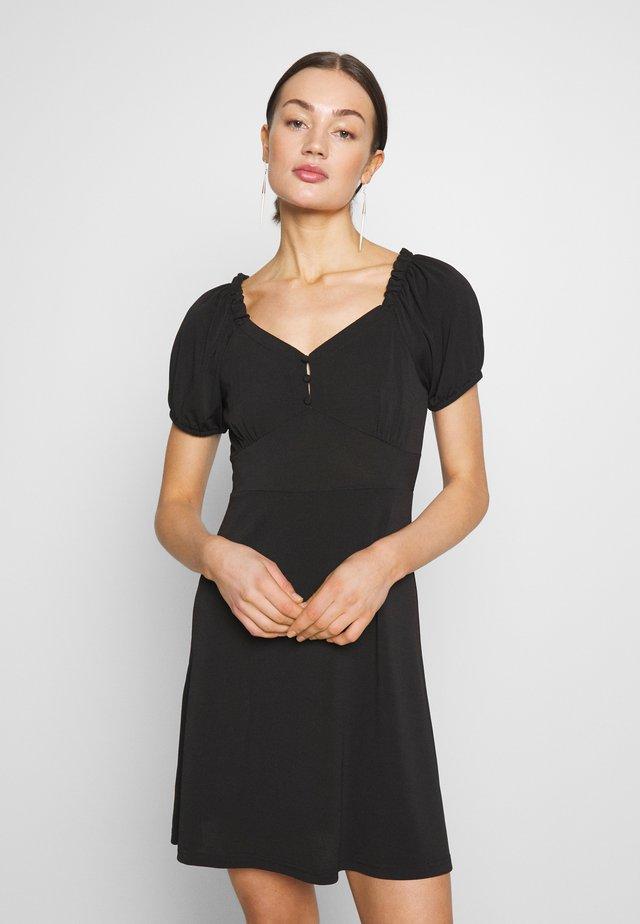 YASMONJA SHORT DRESS - Vestido ligero - black
