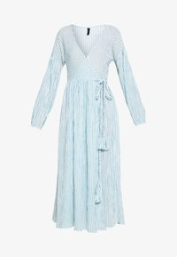 YAS - YASMALTA MIDI DRESS - Denní šaty - sea foam/white - 5