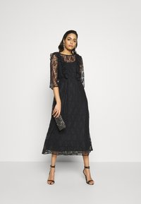 YAS - YASEMMA MAXI LACE DRESS  - Cocktail dress / Party dress - black - 2