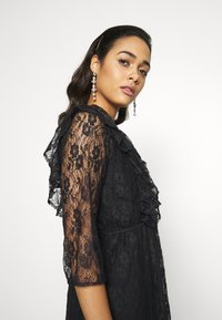 YAS - YASEMMA MAXI LACE DRESS  - Cocktail dress / Party dress - black - 4