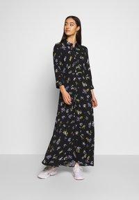 YAS - YASSAVANNA LONG DRESS - Maxi dress - black - 0