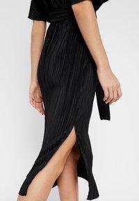 YAS - YASOLINDA  - Korte jurk - black - 4