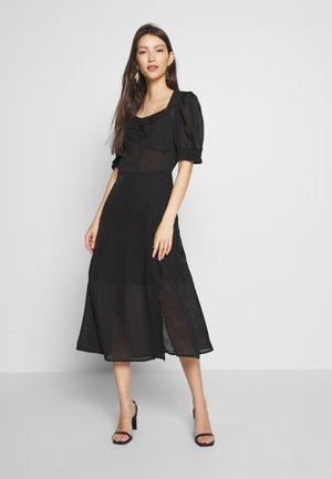 YASELLA  MIDI DRESS - Day dress - black