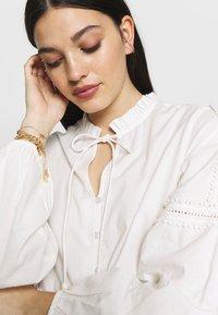 YAS - YASVIGGA DRESS - Robe longue - star white - 4