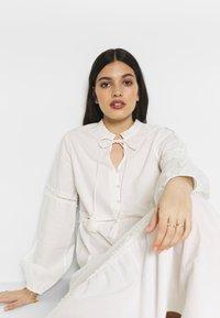 YAS - YASVIGGA DRESS - Robe longue - star white - 3