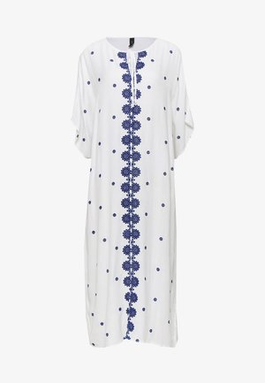 YASMARIE KAFTAN - Day dress - star white/surf the web