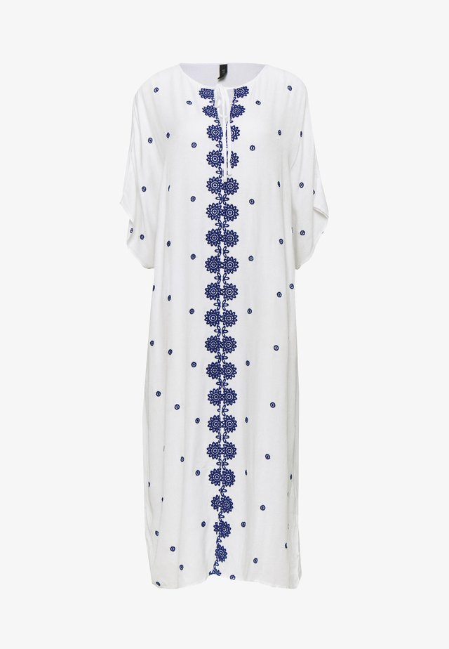 YASMARIE KAFTAN - Korte jurk - star white/surf the web