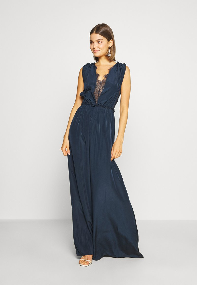 YAS - ELENA BRIDESMAIDS MAXI DRESS - Galajurk - dark sapphire