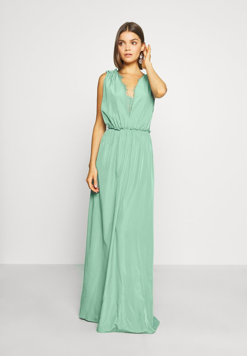 YAS - ELENA BRIDESMAIDS MAXI DRESS - Galajurk - oil blue